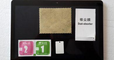Ako nalepiť ochranné tvrdené sklo (tempered glass) na displej tabletu